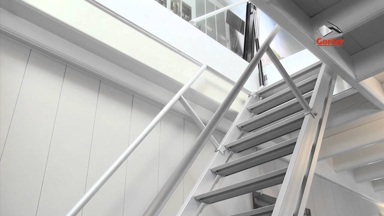 Gorter roof hatches - Fixed stairs - stepladder