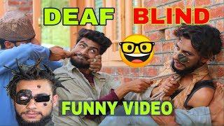 BLIND DEAF Kashmiri funny video by kashmiri rounders