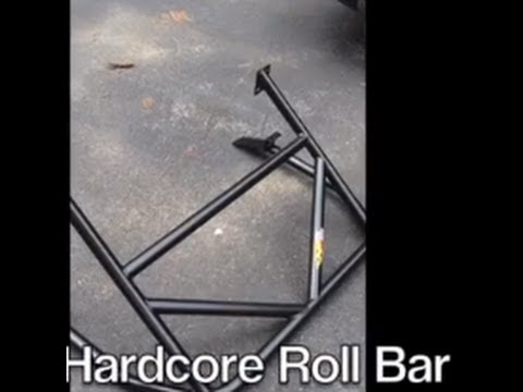 Miata Hard Dog Roll Bar Install