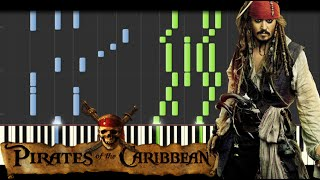 Pirates of the Caribbean Medley [Piano Tutorial] (Synthesia) // Kyle Landry + SHEETS/MIDI