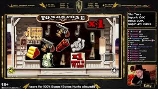 I HATE THIS GAME! Tombstone - BIG WIN 388x / Euky - Slots, Casino, Gambling