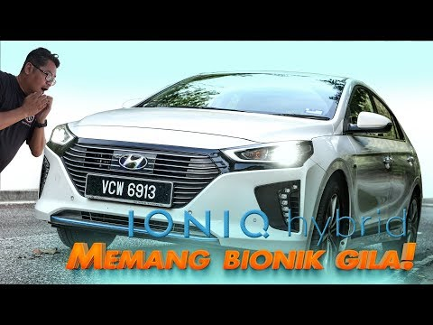 Hyundai Ioniq Hybrid 2019 Malaysia - Memang Bionik gila!!   Review