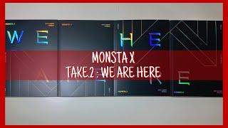 [UNBOXING] MONSTA X 몬스타엑스 'TAKE.2 WE ARE HERE' 3rd Studio Album - I, II, III, IV Versions