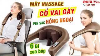 Cách điều trị đau nhức cổ vai gáy cực hiệu quả với Máy massage Ming Zhen MZ-666C - Pin sạc