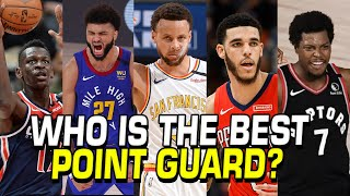 Who is the best PG of the 2021 NBA Season