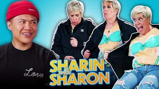 Tim Chantarangsu Freestyle Rap Battles Against Sharon | Sharin' With Sharon