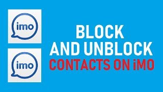 How to Block or Unblock Contacts on iMO