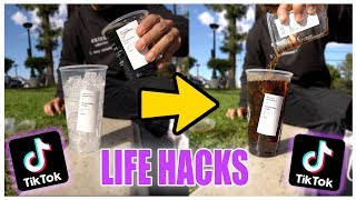 We TESTED Viral TikTok Life Hacks.... (this is what happened)