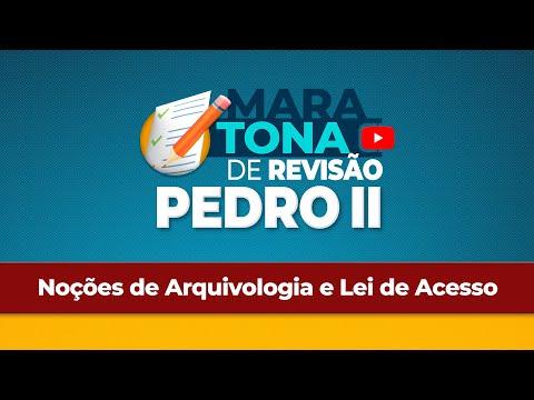 Aulão de Revisão - Colégio Pedro II - Arquivologia e Lei de Acesso - Ana Cláudia Dias