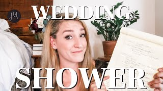 WEDDING SHOWERS: EVERYTHING You NEED To Know