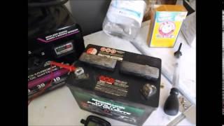 Restoring My Lead Acid Riding Lawn Mower Battery