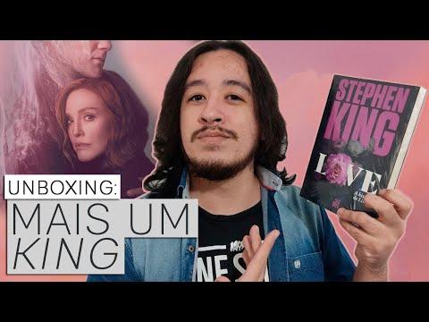 UNBOXING: LOVE, de STEPHEN KING, o livro da série Lisey's Story   Mil Páginas