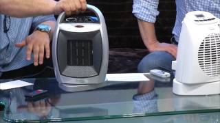 Sichler Haushaltsgeräte Kompakter Keramik-Heizlüfter mit 2 Heizstufen