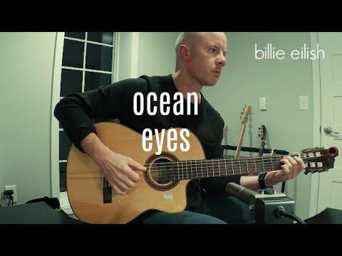 Billie Eilish: ocean eyes (fingerstyle guitar) + TAB