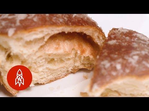 Poland's Famous Jelly Doughnut
