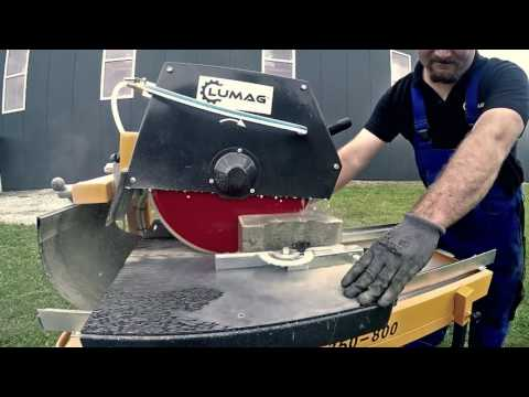 Lumag ST350-800 Kő és csempevágó / Vizes téglavágó / Bruttó ár / Márkaképviselet-szerviz - 250000 Ft - (meghosszabbítva: 2942697071) Kép