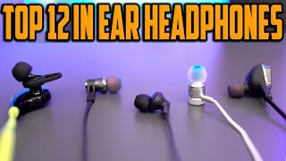 Top 12 Best In Ear Headphones 2021 | Budget, Wired,  Bluetooth, Wireless & More!
