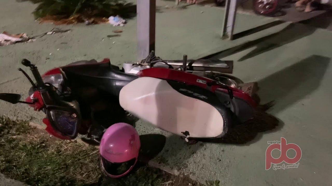 Jovem morre durante queda de moto em Sousa