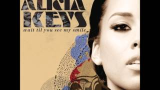"Alicia Keys - ""Wait Til You See My Smile"" with Official Lyrics"