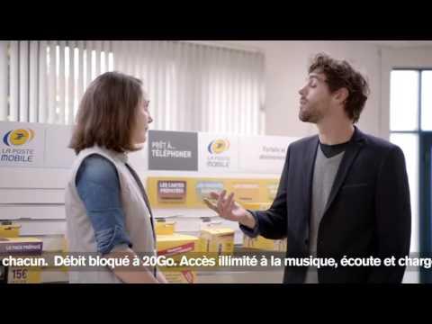 Spot TV La Poste Mobile
