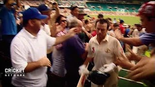 Emotions run high as Steve Waugh ends career