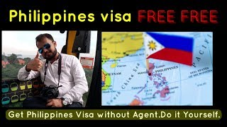Get FREE Tourist Visa for Philippine in simple way Do it Yourself | Explained |HINDI|