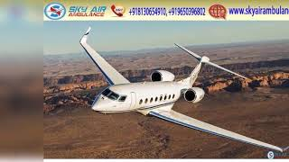 Get India's Fastest ICU Air Ambulance in Nagpur & Bhopal by Sky
