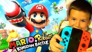 Mario + Rabbids Битва За Королевство - Kingdom Battle - ПЕРВЫЙ ВЗГЛЯД - Nintendo Switch 2017