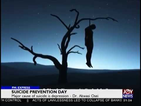 Suicide Prevention Day - PM Express on JoyNews (10-9-18)
