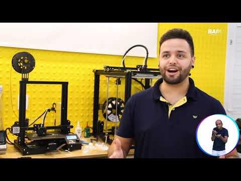 Reportagem sobre o Projeto Sala Maker
