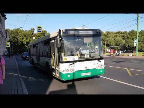 Buses, Trams and Trolleybuses of St Petersburg Aug 2018