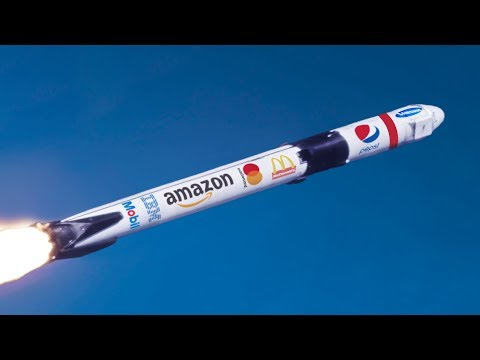 Why don't rockets have adverts on them?