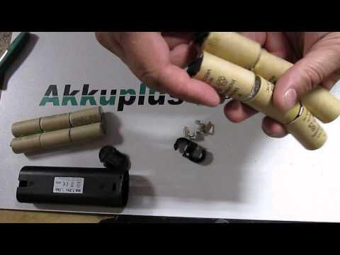 Akkureparatur - Zellentausch - Grizzly WA 7,2V - 7,2 Volt Akku