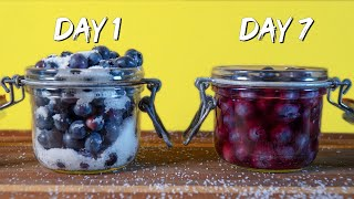 Lacto Fermented Blueberries // Noma Guide To Fermentation