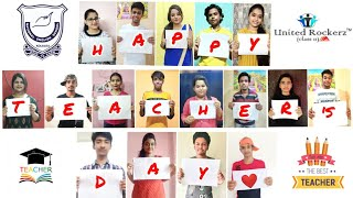 Happy Teachers Day || Class 11 NES Rajarhat Campus Special || United Rockerz || ❤️❤️