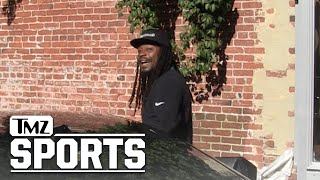 Marshawn Lynch Growls at TMZ Photog, Scares Crap Out Of Him | TMZ Sports