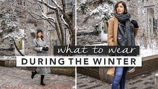 What to Wear in the Winter Time and Layering Tips | by Erin Elizabeth
