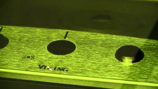 Laser Marking on Stainless Steel Appliance Parts