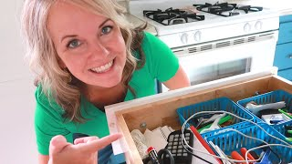 Guided Declutter: Junk Drawer & Top Of The Fridge (Dont Tell Tom!)😉