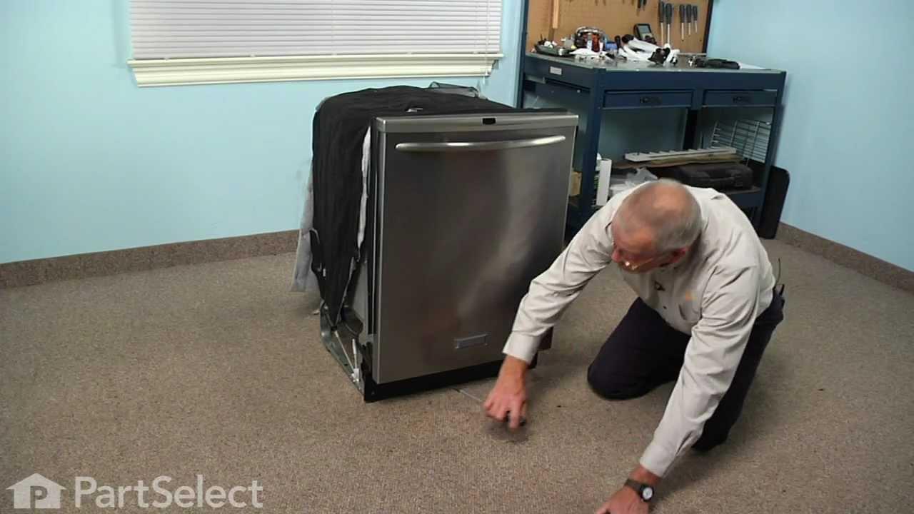 Replacing your Frigidaire Dishwasher Drain Pump