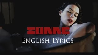 "RAMMSTEIN  ""Sonne"" English Lyrics HD"