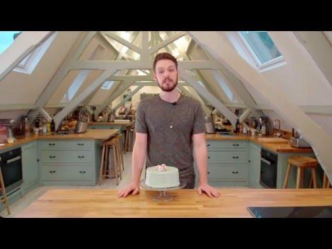 John Whaite's Easter Speckled Egg Cake Recipe Demonstration