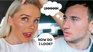 """I DID MY MAKEUP """"HORRIBLY"""" TO SEE HOW MY BOYFRIEND WOULD REACT"""