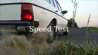 preview picture of video 'Mercedes-Benz W123 2.4TD 1979 Speed Test Poland'