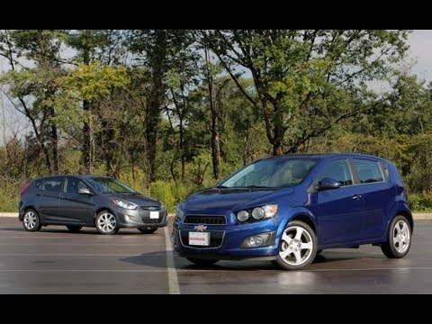2013 Chevrolet Sonic vs 2013 Hyundai Accent Comparison