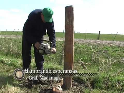 Como poner postes de maderas para un cerco yahoo - Como impermeabilizar madera ...