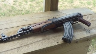 AK 47 Build-From Parts To Range