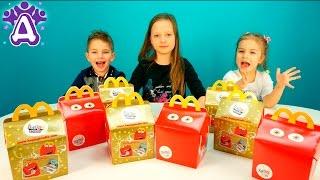 Открываем  ХЭППИ МИЛ с игрушками. Игрушки Макдональдс.  Open the Happy Meal toys. McDonald