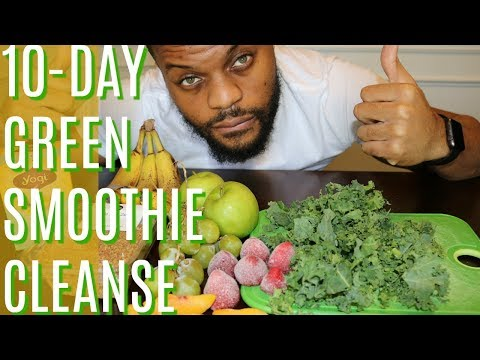 I LOST 18 POUNDS IN 10 DAYS // 10 DAY GREEN SMOOTHIE CLEANSE // MY DAILY EXPERIENCE