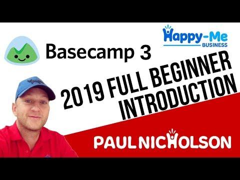 Basecamp 3 2019 Beginner Introduction - YouTube